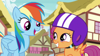 "Rainbow Dash ""a Reservist one"" S6E7"