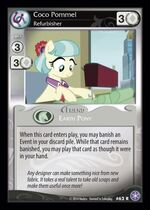 Coco Pommel, Refurbisher card MLP CCG