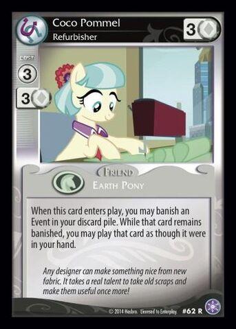File:Coco Pommel, Refurbisher card MLP CCG.jpg
