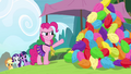 Pinkie Pie angry and pointing at pompoms S4E10.png