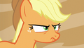 Applejack bitter at Flim and Flam S6E20.png
