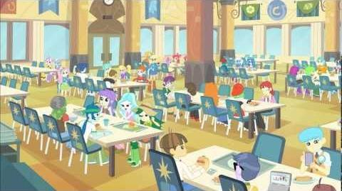 Equestria Girls (Cafeteria Song)/International versions