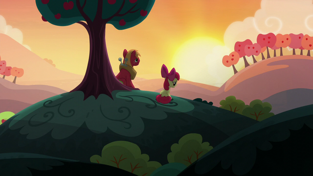File:Apple Bloom talking to Big McIntosh S5E17.png