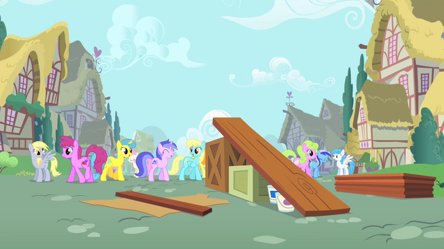 File:Ponies walking in Ponyville S1E18.png