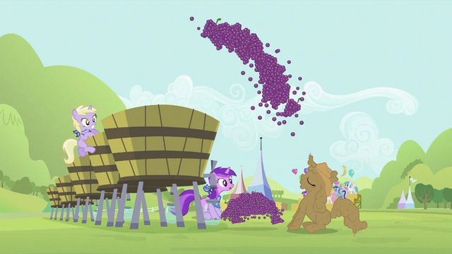 File:Rarity launching grapes into the vat S2E05.png