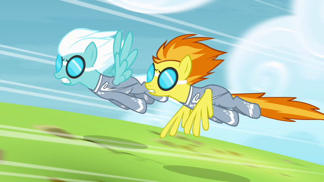 File:Spitfire and Fleetfoot speeding down the track S4E10.png