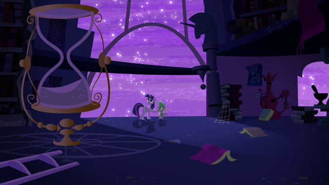 """File:Twilight """"It's a total mess!"""" S5E12.png"""