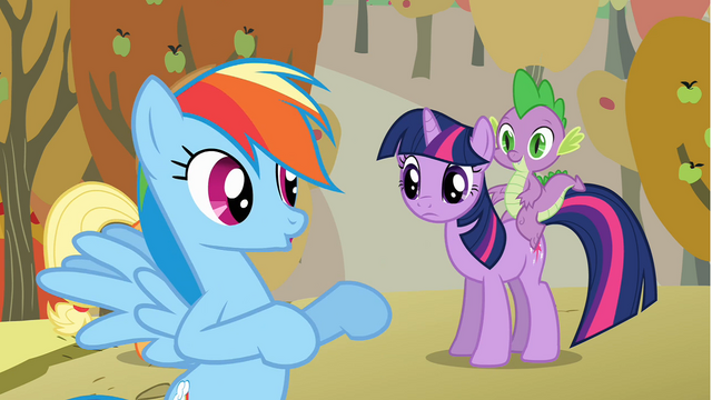 File:Twilight listening to Rainbow Dash S01E13.png