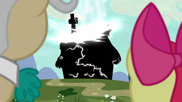 File:Twittermites zap a Ponyville cottage S5E4.png