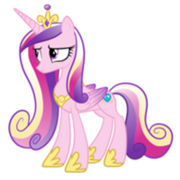 FANMADE Princess Cadance frown