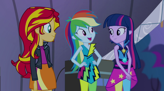 "File:Rainbow ""Twilight is going back to Equestria soon"" EG2.png"