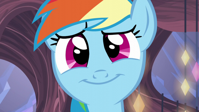File:Rainbow Dash's comforting smile S5E19.png