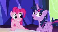 """Twilight """"you'd have to be a complete crazy pony"""" S5E22"""