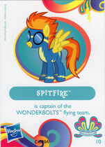 Wave 11 Spitfire collector card