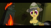 Daring Do facing fire S2E16
