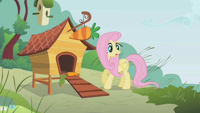 File:Fluttershy turns around S1E07.png