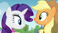 AJ and Rarity make a troubling realization S4E22.png