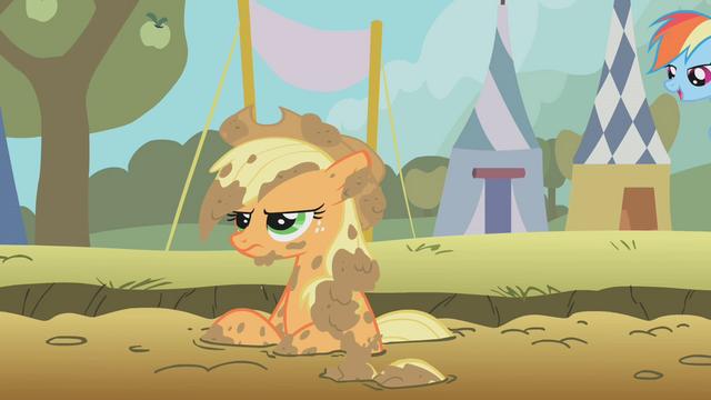 File:Applejack dirty S01E13.png