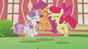 Cutie Mark Crusaders jumping for joy S5E18.png