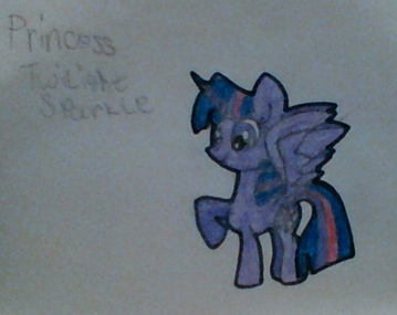 FANMADE Princess Twilight Sparkle drawing by The Biggest SU Fan