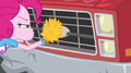 Pinkie wiping the grill of Big Mac's truck EGS1.png
