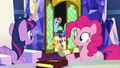 Applejack and friends enter the castle throne room S7E11.png