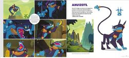 Art of Equestria page 102-103 - Ahuizotl concept