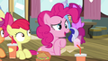 "Pinkie Pie ""what's going on out there"" S4E15.png"