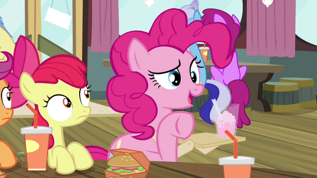 "File:Pinkie Pie ""what's going on out there"" S4E15.png"