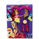 Sunset Shimmer Equestria Girls Rainbow Rocks fashion set packaging