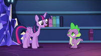 "Twilight ""I've even devised a better system for organizing them"" S5E22"