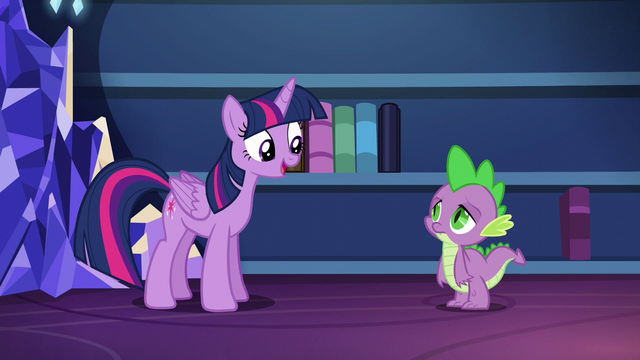 "File:Twilight ""I've even devised a better system for organizing them"" S5E22.png"