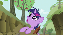 Twilight Sparkle with messy mane S2E03