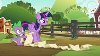 Twilight surprised by checklist's length S6E10