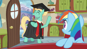 "Zephyr ""graduated from mane therapy training"" S6E11"
