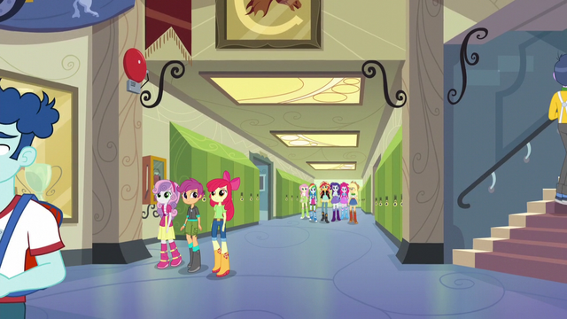 File:Main six and Crusaders in the CHS hallway EG3.png