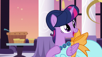 "Twilight Sparkle ""it's alright, everypony"" S5E7"