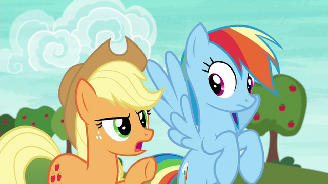 """File:Applejack """"get your heads in the game"""" S6E18.png"""