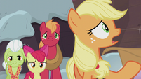 "Applejack ""what I should've done was learn about yours"" S5E20"