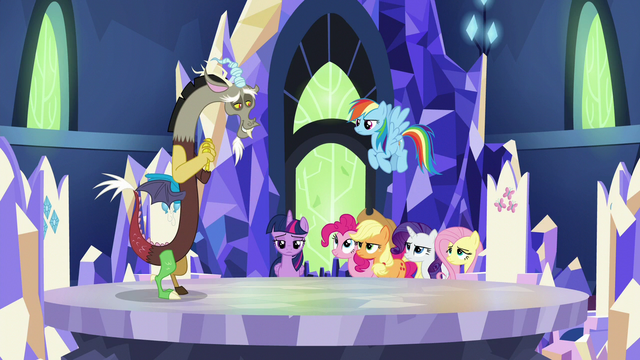 "File:Discord ""Princess Twilight learned a valuable lesson"" S5E22.png"