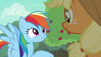 "Rainbow Dash ""I've just got one question"" S6E18"