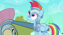Rainbow Dash entire empire S3E2