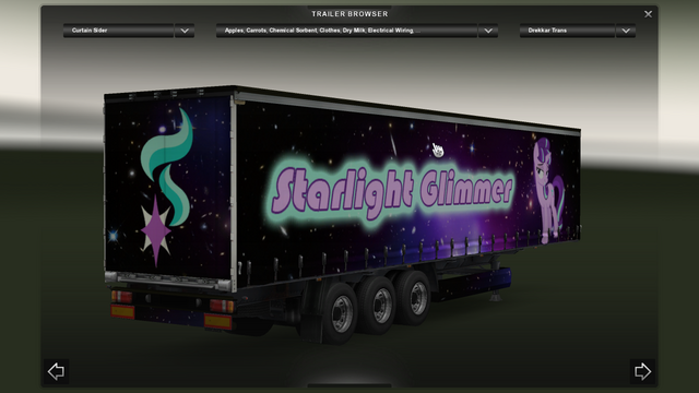 File:FANMADE ETS2 Pete 389 Custom - Starlight Glimmer Skin 11.png