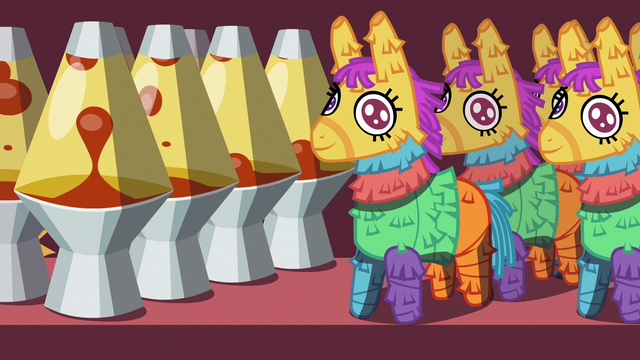 File:Lava lamps and pinatas on a store shelf S7E12.png