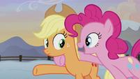 """Pinkie Pie """"I'll explain on the way!"""" S5E20"""