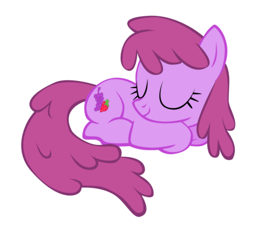 File:FANMADE Berryshine sleeping by SierraEx.png