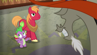 """Spike """"we don't wanna do these things"""" S6E17"""