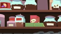 Box of ginseng tea on the store shelf S7E12