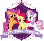 Cutie Mark Crusaders crest