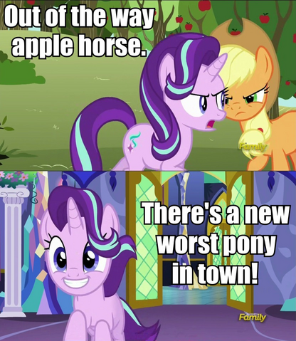 File:FANMADE Starlight worst pony.png